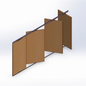 Kit Porta Deslizante e Pivotante
